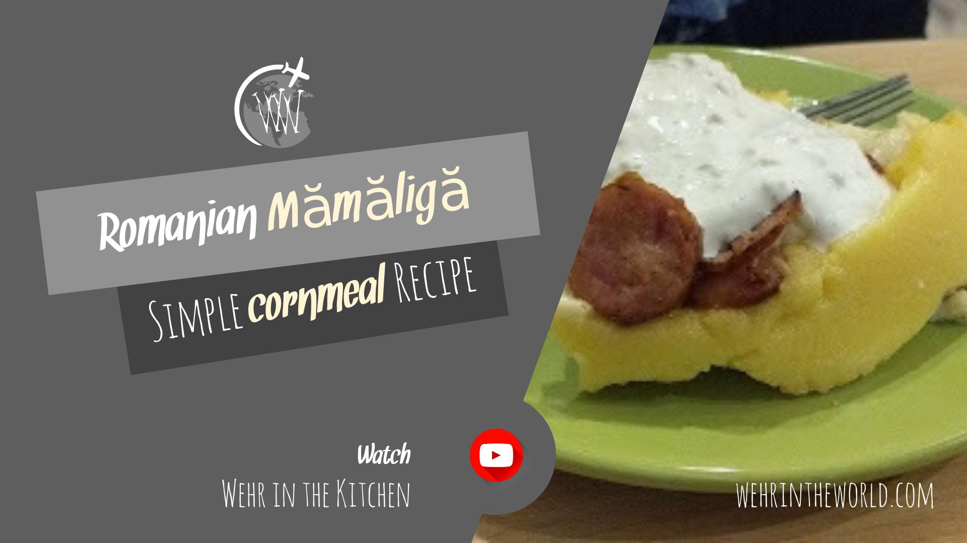 Youtube Episode #3 - Cooking Anca's Mămăligă