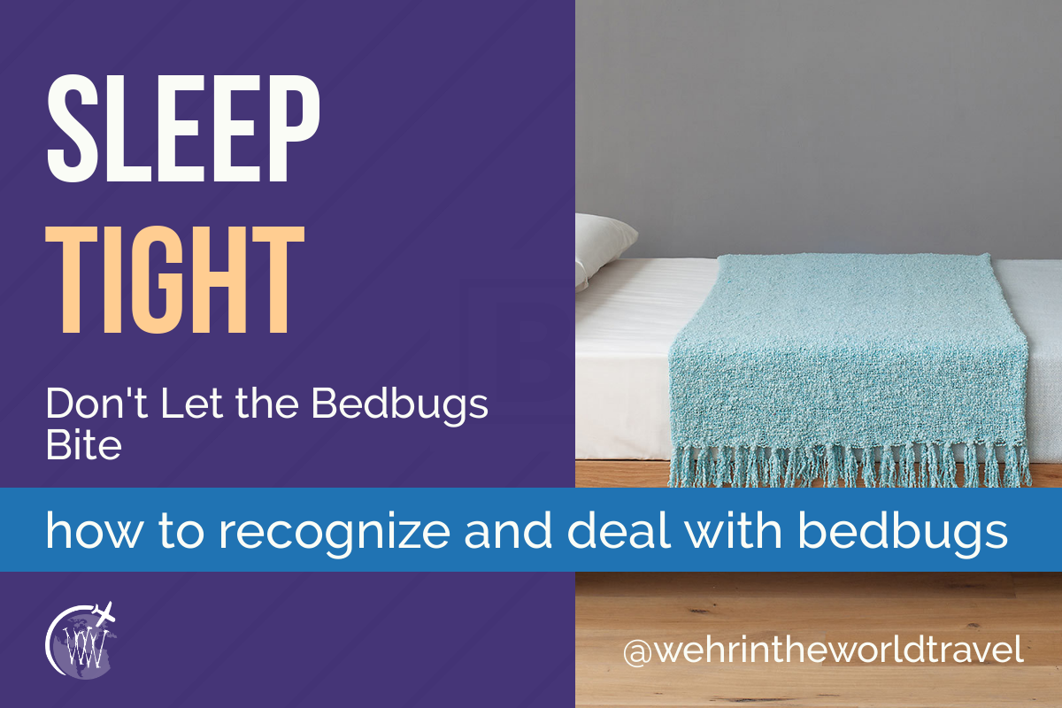 Sleep tight. Don't Let the Bedbugs Bite